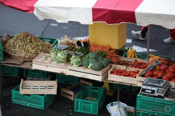 Fuits et légumes de producteur du Lot-et-Garonne, Marché de Créon, Gironde