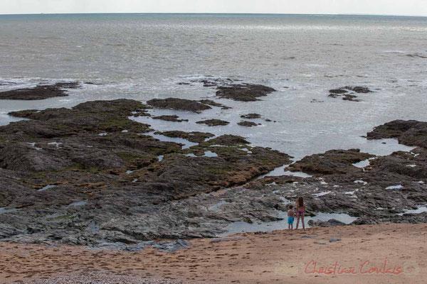 Plage des Cinq Pineaux, la Corniche Vendéenne, Vendée, Pays de la Loire