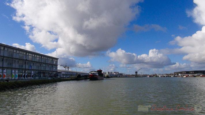 Hangar 2 et Bassins à flot, Bordeaux, Gironde. Vendredi 26 février 2016