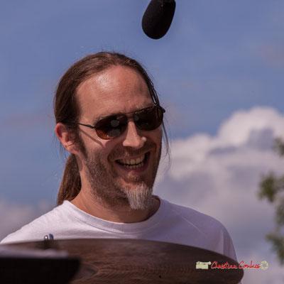 Simon Pourbaix; Loïc Cavadore Trio. Festival JAZZ360 2019, Camblanes-et-Meynac. 08/06/2019