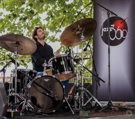 Eric Séva Quartet : Matthieu Chazarenc. Festival JAZZ360 2016, Camblanes-et-Meynac, 11/06/2016