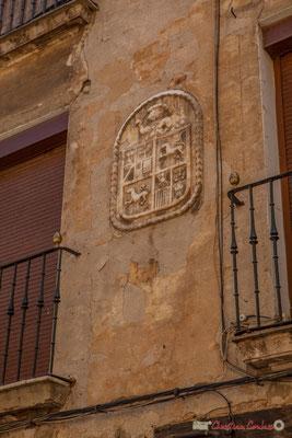 Blason de maison noble /  Escudo de armas de la casa noble, Tudela, Navarra