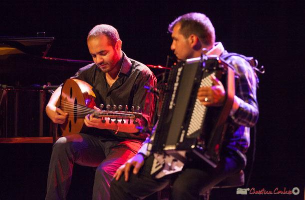 Eym Trio; Mohamed Abozekry, Marian Badoï. Festival JAZZ360, Cénac, 09/06/2017