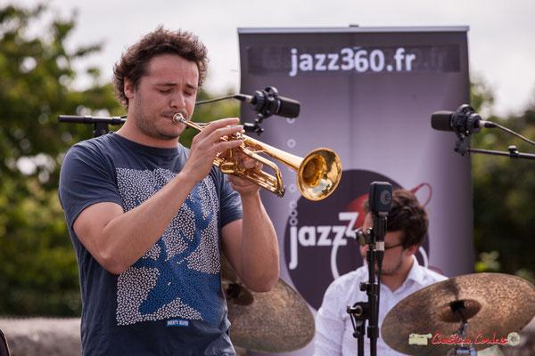 Louis Gachet; Atelier jazz du conservatoire Jacques Thibaud. Festival JAZZ360, Quinsac. 10/06/2018