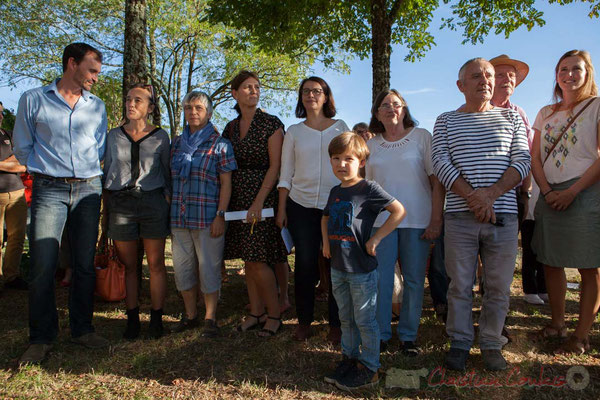 Mathilde Feld, Nathalie Aubin, Anne-Laure Fabre-Nadler, Cécile Duflot, Marine Schenegg, Jean Leblanc