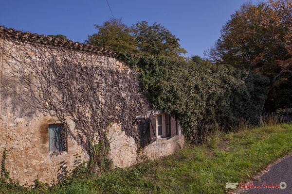 Ancienne maison de paysan / vivier (XVIIème siècle) du Domaine de Raoul / Rolland, puis Roquebrune. Avenue de Roquebrune, Cénac, Gironde. 16/10/2017