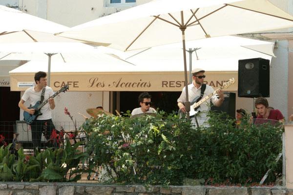 Concert des Ateliers Jazz des conservatoires de Bordeaux et Agen. Festival JAZZ360 2011, restaurant les Acacias, Cénac. 05/06/2011