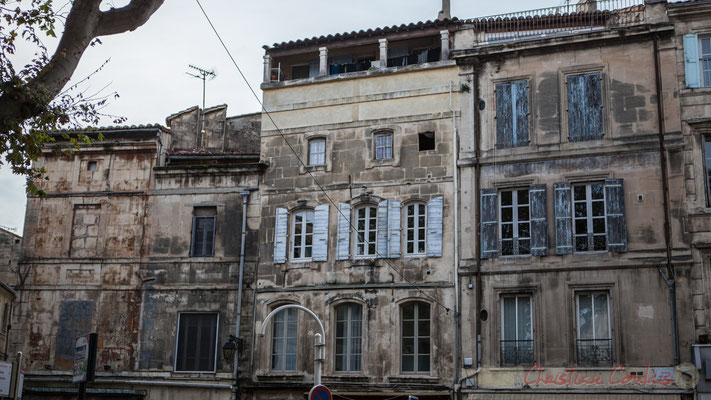42 Façade de maisons, Arles