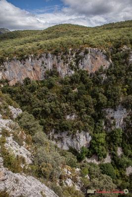 Plateau de la Sierra de Leyre, Belvédère d'Iso, Gorge de Arbaiun, Navarre /  Meseta de la Sierra de Leyre, Belvedere de Iso, Foz de Arbaiun, Navarra