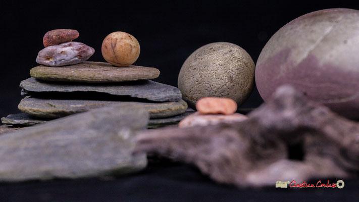 Nature morte minérale, Atelier Photo Numérique de l'AMAC. 09/11/2019 Photographie © Christian Coulais