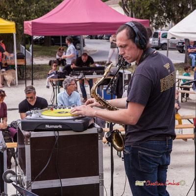 Vincent Lefort; The Protolites. Festival JAZZ360 2019, Quinsac. 09/06/2019
