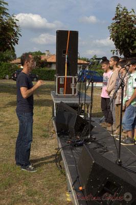 Vincent Nebout, professeur des écoles. Festival JAZZ360, Cénac, 12/06/2015