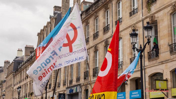 """""""Union populaire 2022"""" Manifestation intersyndicale, Bordeaux, mardi 5 octobre 2021. Photographie © Christian Coulais"""