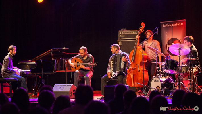 Eym Trio; Elie Dufour, Mohamed Abozekry, Marian Badoï, Yann Phayphet, Marc Michel. Festival JAZZ360, 09/06/2017