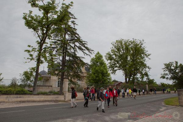 Château Lamothe, Cénac. Randonnée pédestre Jazz360 2016, de Cénac à Quinsac, 12/06/2016