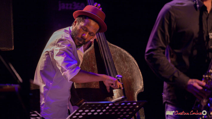 Joe Sanders; Vincent Bourgeyx Quartet. Festival JAZZ360 2018, Cénac. 09/06/2018
