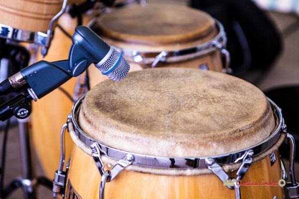 Festival JAZZ360 2019, 10ème anniversaire. Percussions de Philippe Ciminato, Langoiran. 06/06/2019