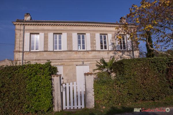 3 Habitat vernaculaire. Avenue de Mons, Cénac, Gironde. 16/10/2017