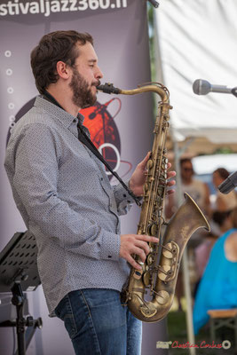 Paul Robert, Quintet On Lee Way, Festival JAZZ360, Quinsac, 11/06/2017