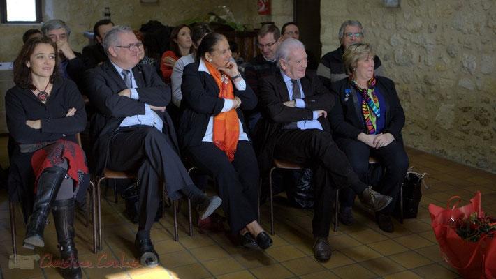 Humour et bonne humeur lors du discours de Suzette Grel, 7 février 2015, Le Pout
