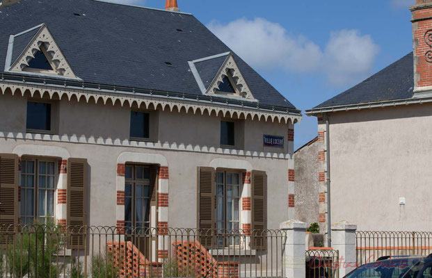 Habitat traditionnel. Saint-Gilles-Croix-de-Vie, Vendée, Pays de la Loire