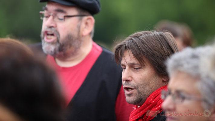 """Patrick Pérez """"Renaud"""", élu à la commune de Quinsac; Les Choraleurs, Festival JAZZ360 2013, Quinsac. 08/06/2013"""