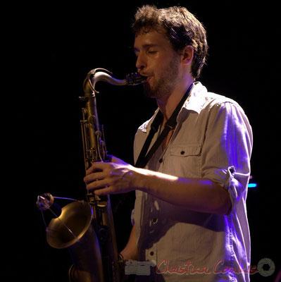 Paul Robert; Edmond Bilal Band, Festival JAZZ360 2013, Cénac. 07/06/2013