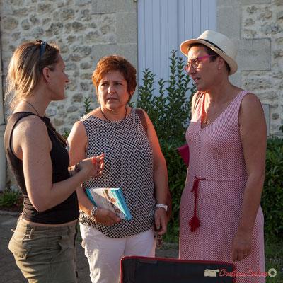 Nathalie Chollon-Dulong (D). Permanence mobile / Réunion de place des Insoumis de la 12ème circonscription de la Gironde. Fargues-Saint-Hilaire, 1er juin 2017