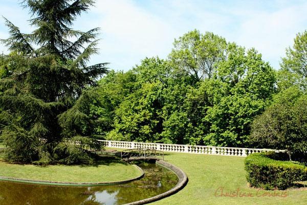Parc du Château de Latresne, site de l'Aérocampus Aquitaine