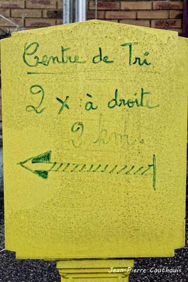 Boîte à lettre P.T.T., Fargues-de-Langon. Samedi 10 octobre 2020. Photographie © Jean-Pierre Couthouis