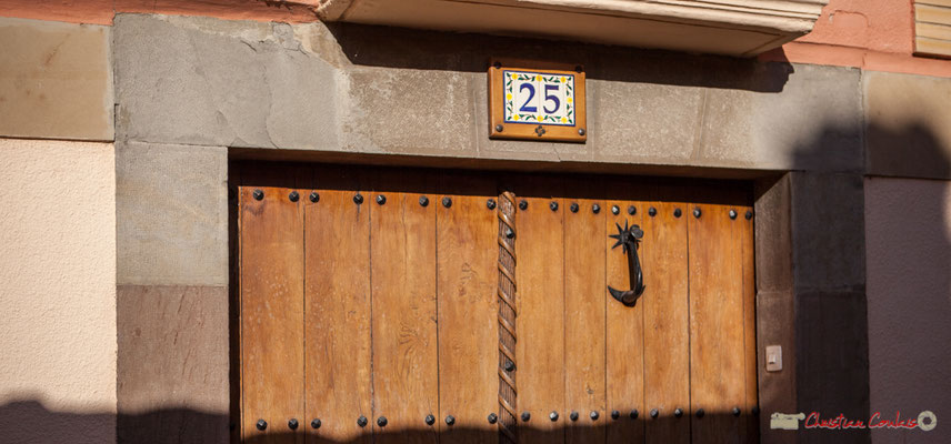 Heurtoir de porte d'entrée, Sangüesa, Navarra