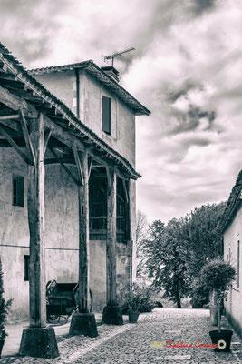 Les communs et la tour du régisseur, Domaine de Malagar. Centre François Mauriac, Saint-Maixant. 28/09/2019 Reproduction interdite - Tous droits réservés © Christian Coulais
