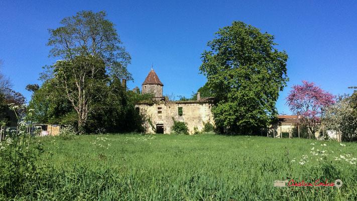 Façade sud du Château Haut-Brignon, Cénac. 12/04/2017