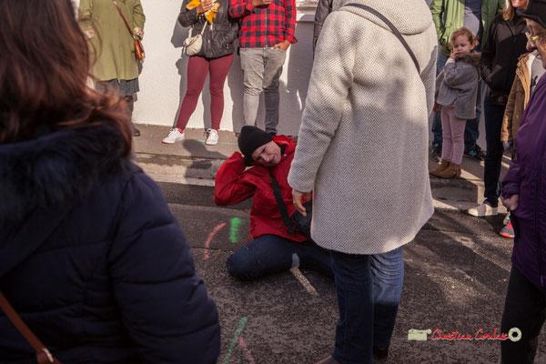 """ça me démange"" Sarah Féry; Regards en biais, Cie La Hurlante, Hors Jeu / En Jeu, Mérignac. Samedi 24 novembre 2018"