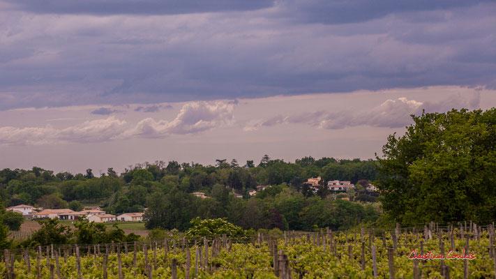 Ciels et nuages, vendredi 17 avril 2020, 15h41, le Garde, Cénac. Photographie : Christian Coulais / 150mm