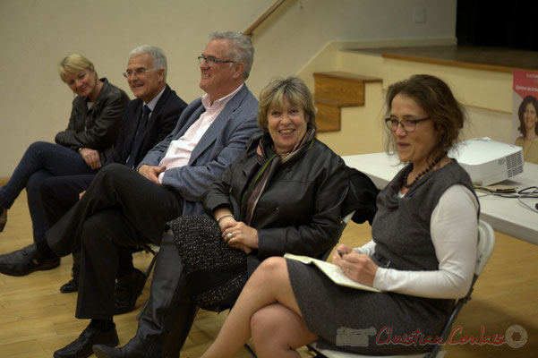 Nathalie Roca, Gérard Poisbelaud, Jean-Marie Darmian, Françoise Cartron, Mathilde Feld