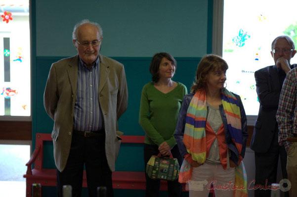 Guy Trupin, Maire de Camblanes-et-Meynac, Conseiller général honoraire. Festival JAZZ360 2012, groupe scolaire de Cénac, samedi 9 juin 2012
