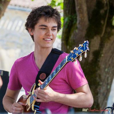 Tom Ibarra, Tom Ibarra Group. Festival JAZZ360, 10 juin 2017, Camblanes-et-Meynac