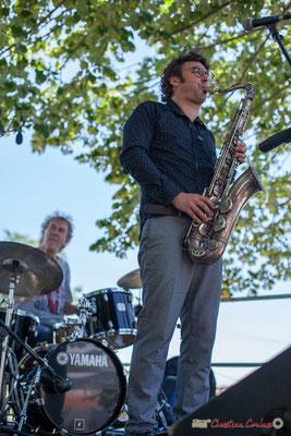 Christian Ton Ton Salut, Jean Vernhères; Soul Jazz Rebels. Festival JAZZ360, 10 juin 2017, Camblanes-et-Meynac