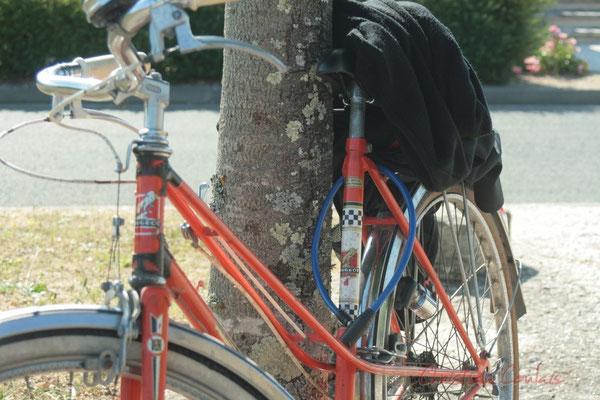 Vélo de Marc Boussage, élu à Cénac. Festival JAZZ360 2011, Les coulisses du Festival à Cénac. 03/06/2011