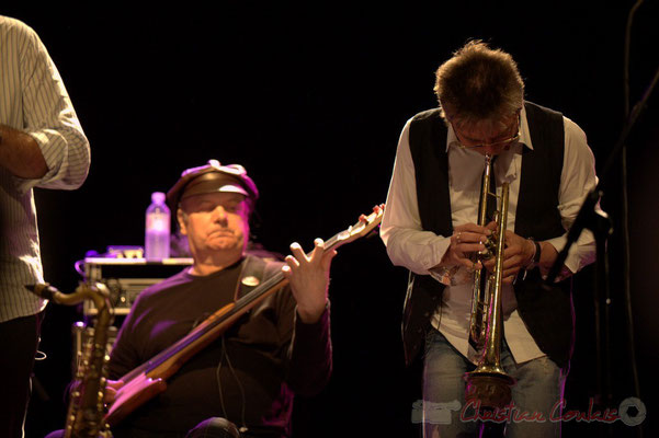 Dany Marcomb, Freddy Buzon; Post Images. Festival JAZZ360 2012, Cénac. 10/06/2012