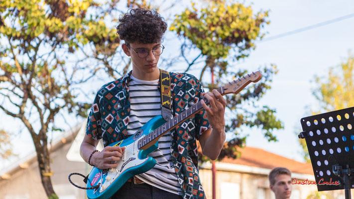 Gabriel; Axelle and the mec(s) en concert. Festival Ouvre la voix, sation vélo de Créon, samedi 4 septembre 2021. Photographie © Christian Coulais