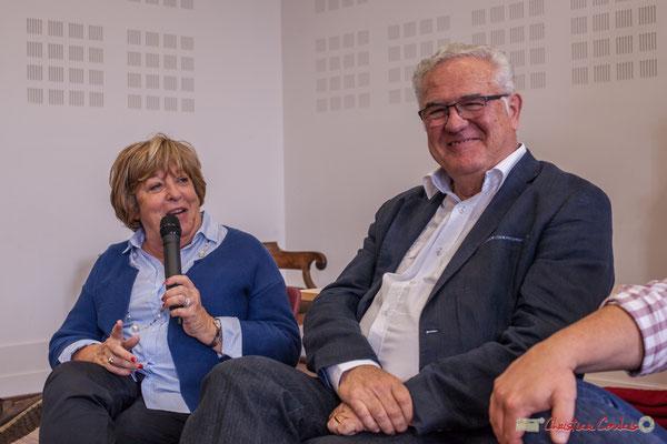 """Françoise Cartron, l'Ecole Normale, le féminisme. Sortie et dédicace du livre """"Le jour où..."""" de Jean-Marie Darmian, Créon. 14/10/2017"""