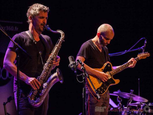 Sylvain Rifflet, Philippe Gordiani, Sylvain Rifflet Quartet, Festival JAZZ360 2016, Cénac, 10/06/2016
