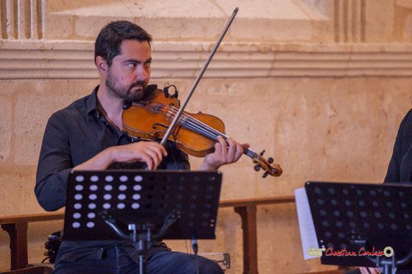 Bastien Ribot; François Poitou Quintet. Festival JAZZ360 2019, Cénac. 07/06/2019
