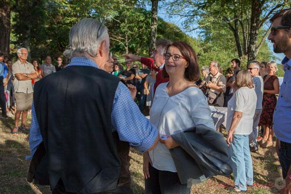Avant de repartir pour le siège d'Europe Ecologie les Verts, Cécile Duflot prend le temps de répondre à quelques questions