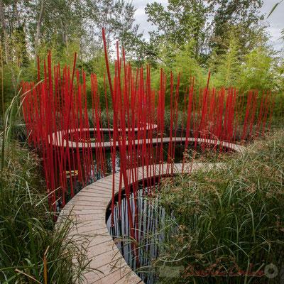 « Carré & Rond »; Yu Kongjian, architecte paysagiste; Prés du Goualoup; Domaine de Chaumont-sur-Loire