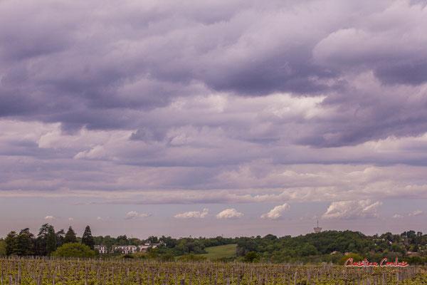 Ciels et nuages, vendredi 17 avril 2020, 15h41h, le Garde, Cénac. Photographie : Christian Coulais / 85mm