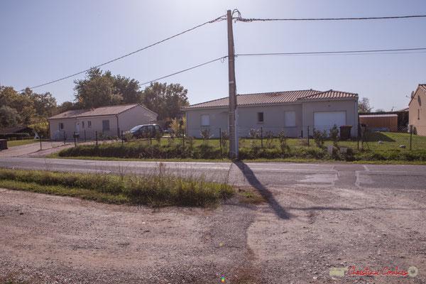 1 Habitats des années 2015. Avenue de Lignan, Cénac, Gironde. 16/10/2017