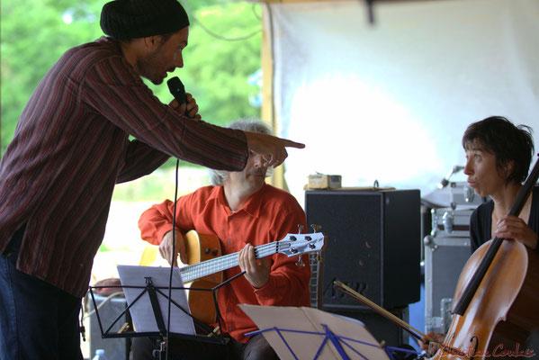 Festival JAZZ360, Carlton Rara, Eric Dubosc, Julie Läderach, Serge Balsamo Quartet